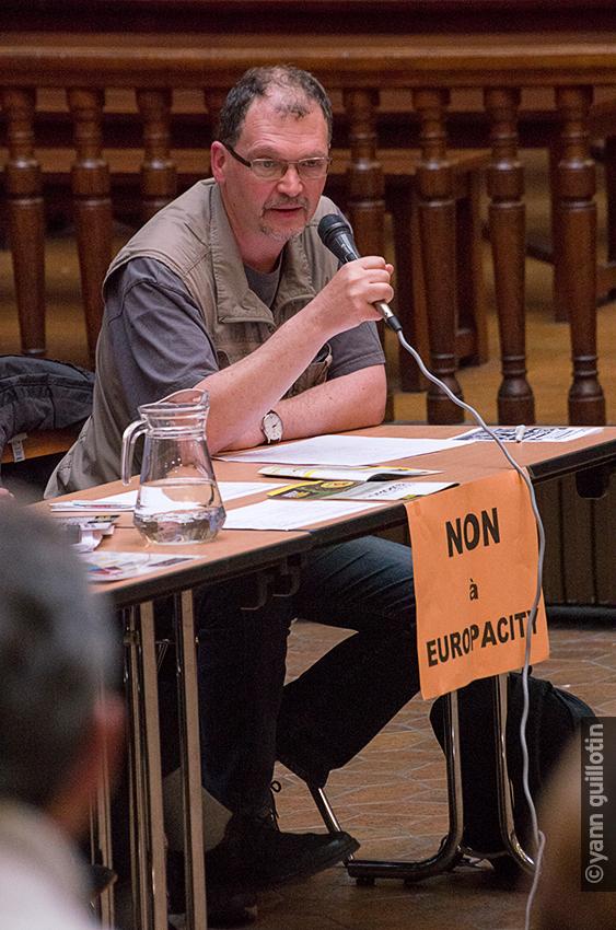 Benoît Martin – membre de l'Union Départementale CGT de Paris