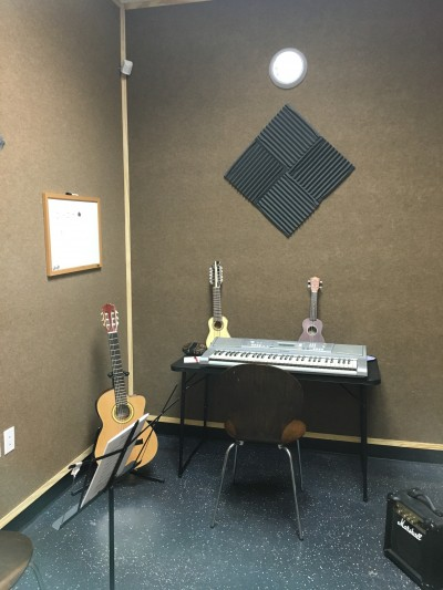 Private Studios for Lessons