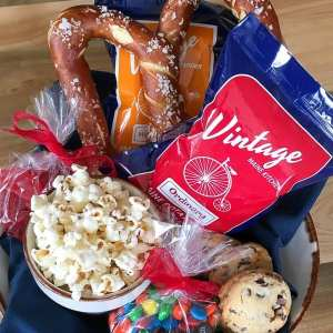 Maine resort movie night snacks