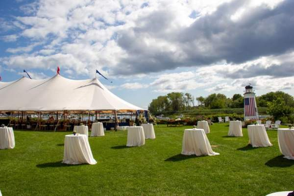 Outdoor event space in southern Maine