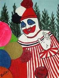 Dipinto di John Wayne Gacy