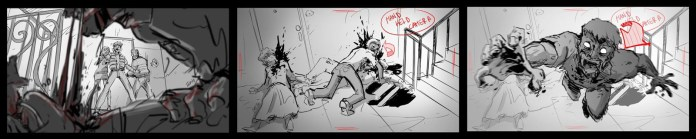 (Z) The series - sequenza dello storyboard del pilot