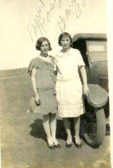 Grandma Katie and sister, Rosa