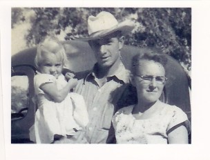Jimmie Dee and Elsa with daughter Nona (Me).
