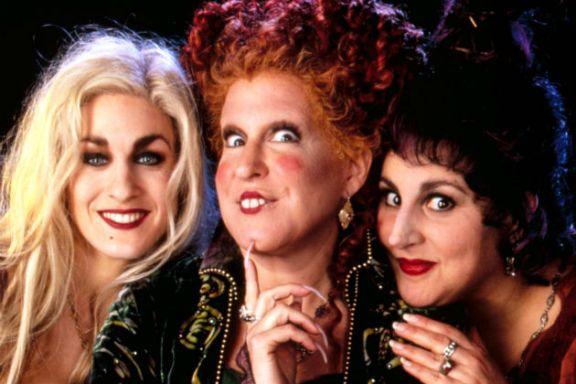 Para penyihir dalam film Hocus Pocus