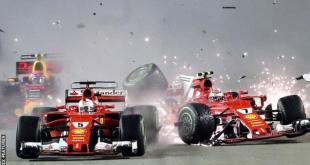 Singapore Grand Prix: Max Verstappen blames Sebastian Vettel for crash