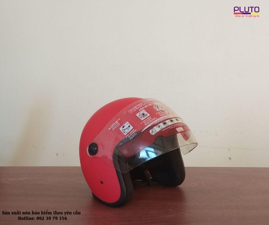 Xưởng sản xuất nón bảo hiểm quảng cáo theo yêu cầu