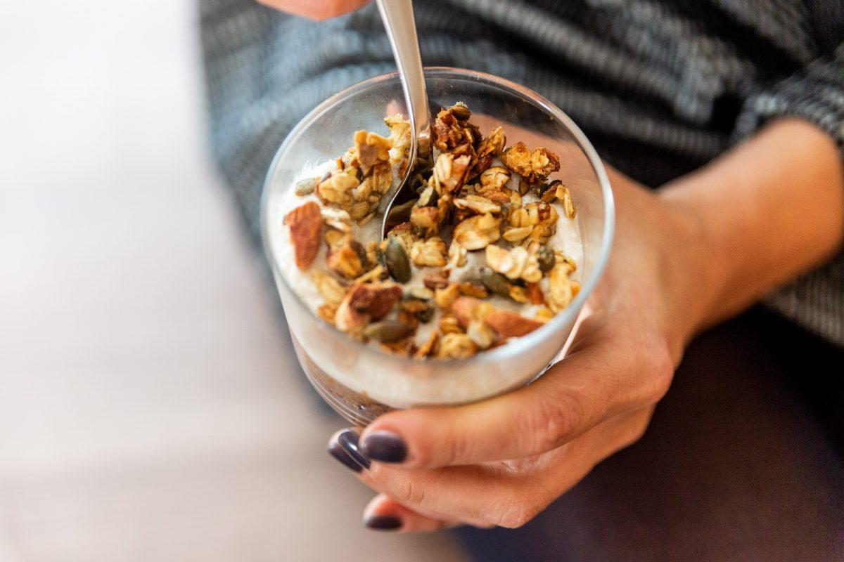 Ricette Dolci: Cremoso alla zucca con Crumble di Avena - Non Chiamatela Dieta