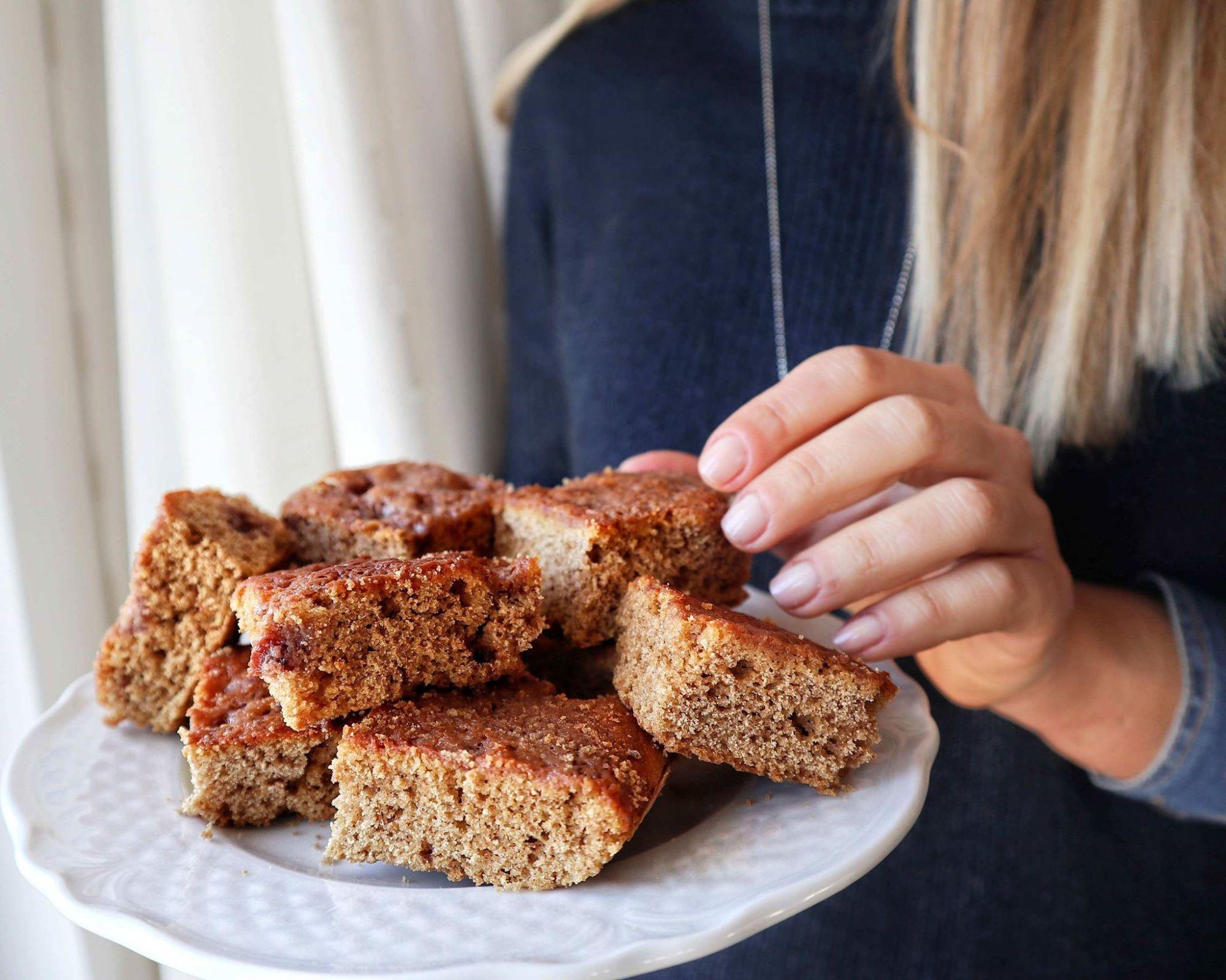 Torta soffice alla crema di mandorle - Ricetta - Non Chiamatela Dieta