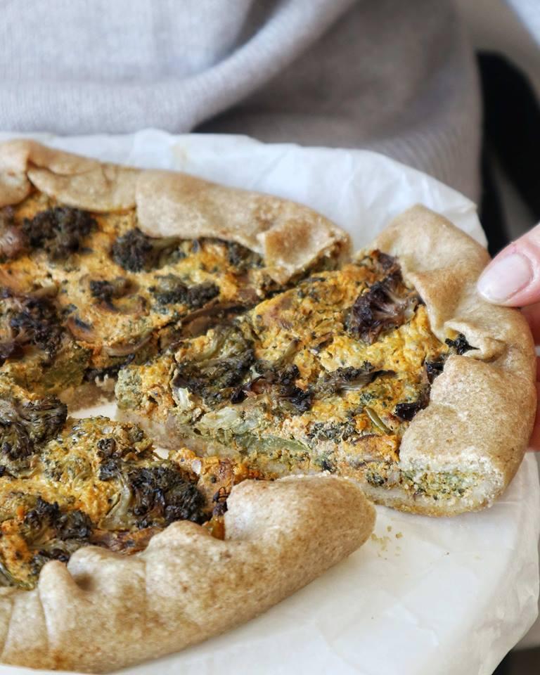 Ricette salate: Torta alla zucca, funghi e broccoletti - Non Chiamatela Dieta