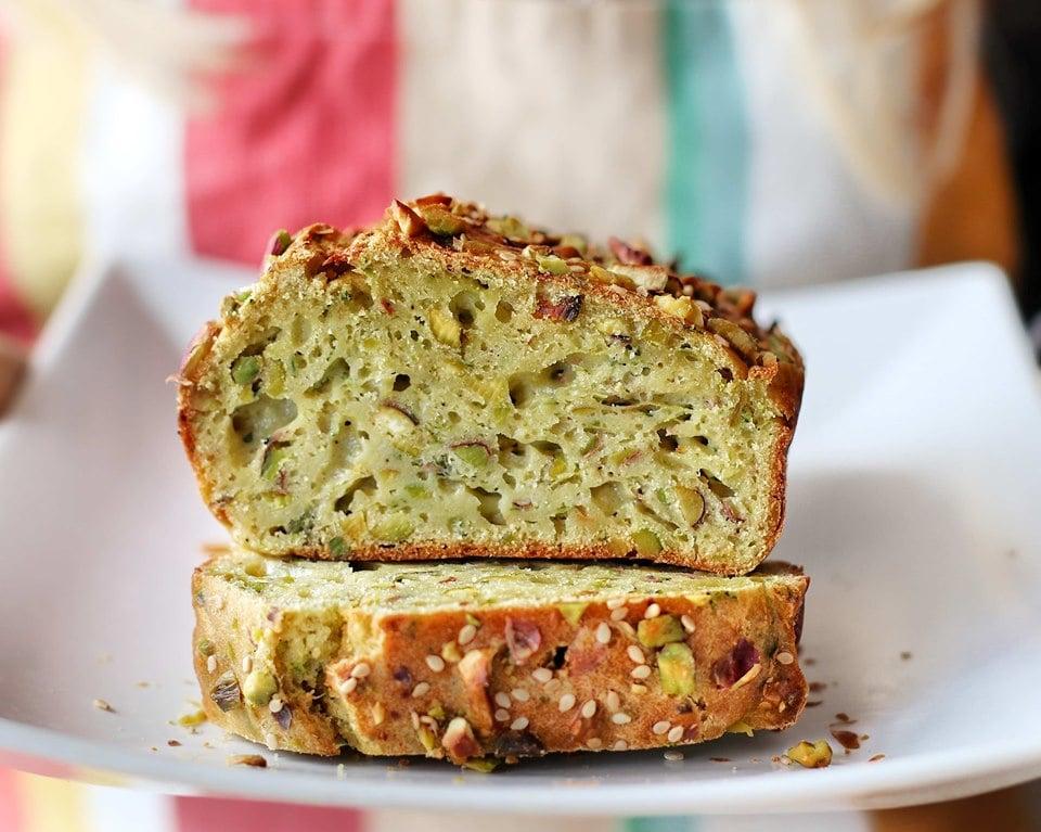 Plumcake salato ai Pistacchi - Non Chiamatela Dieta