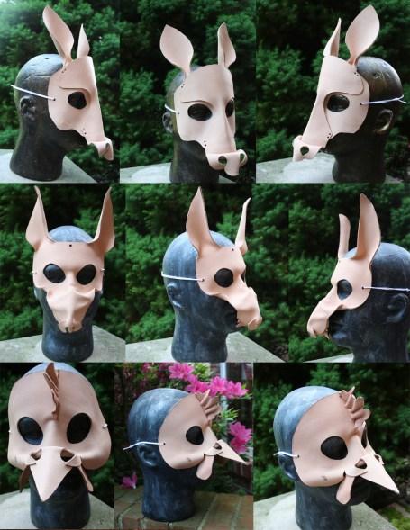 Boston Crusaders - custom masks