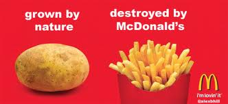 destroyed by McDonalds