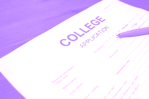 school college application nonediary