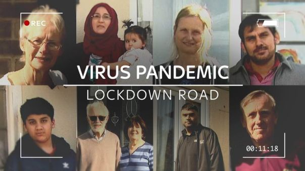 Residents on one road in Leeds have agreed to film their experiences of lockdown
