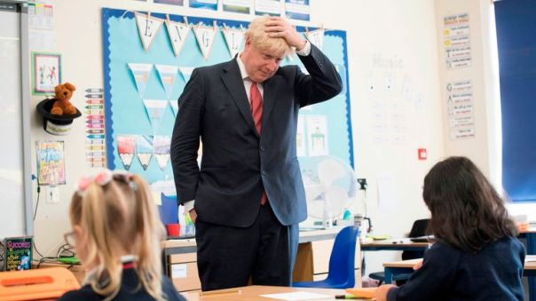 Boris Johnson is determined to see schools reopen next month