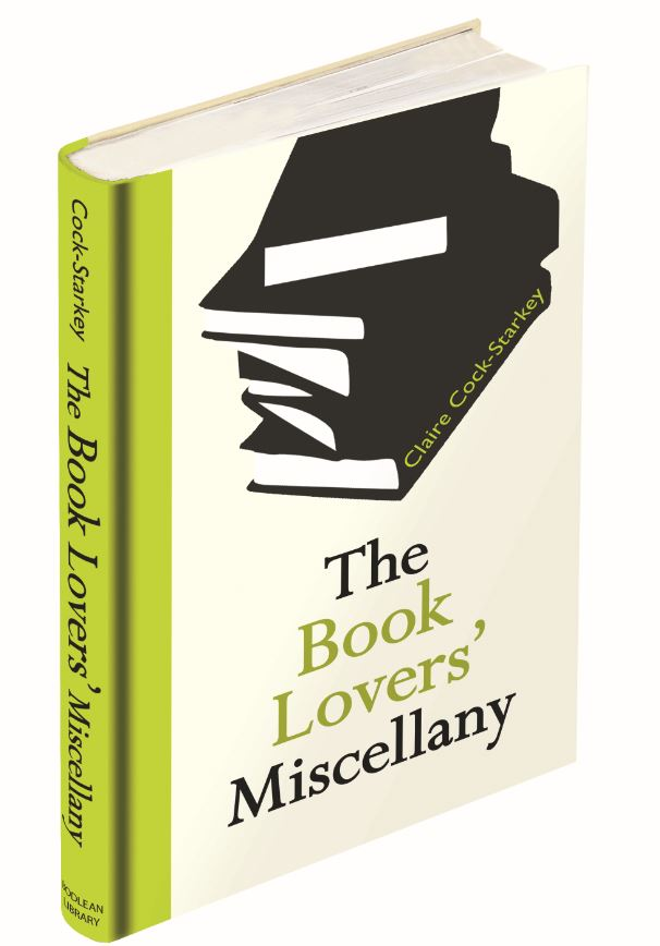 Book cover design for The Book Lovers' Miscellany by Claire Cock-Starkey