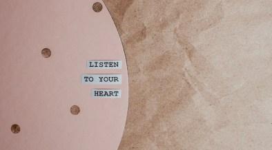 Leef vanuit je hart in plaats vanuit je hoofd