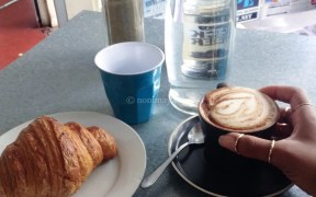 Know it all; my favourite breakfast news with a croissant and a coffee