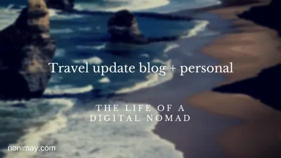 Upcoming travels noni may