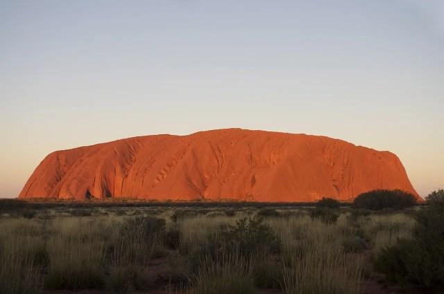The Big Australian Bucket List Sunset and Sunrise at Uluru