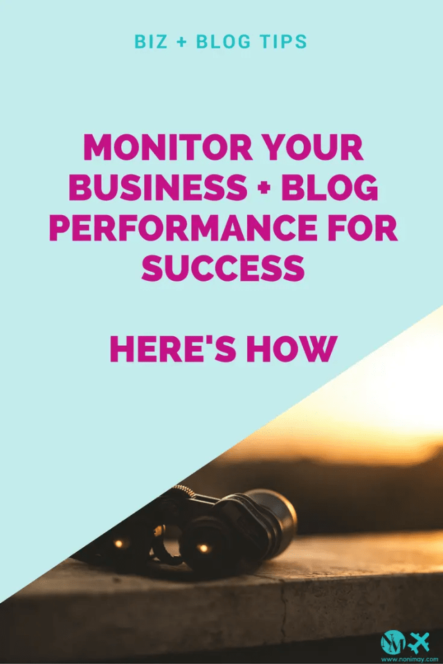 Why monitoring your business's performance can drive it on to success