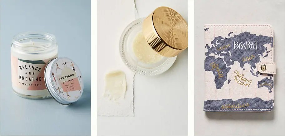 Amazing Anthropologie gifts for literally every person in your life under $25. Gifts for someone who has everything! 6