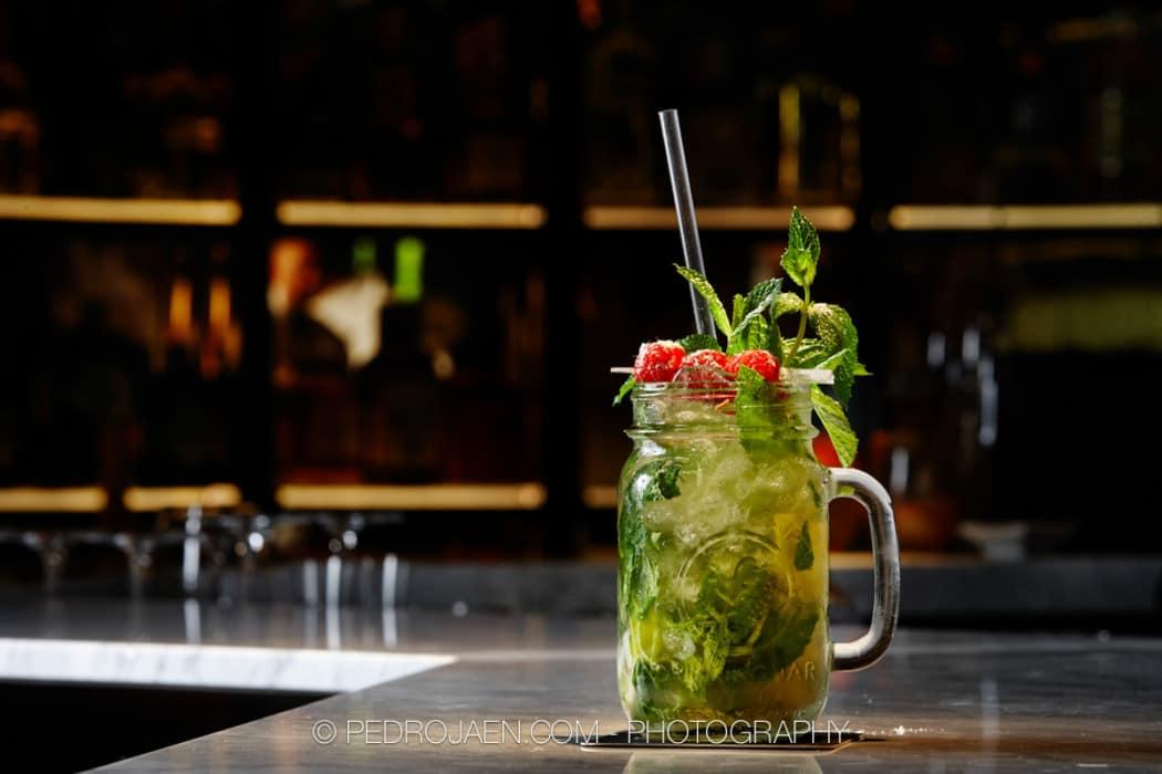 Marbella cocktail Bar crafted cocktails branding