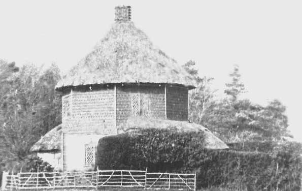 The Round House near Barfeston circa 1900