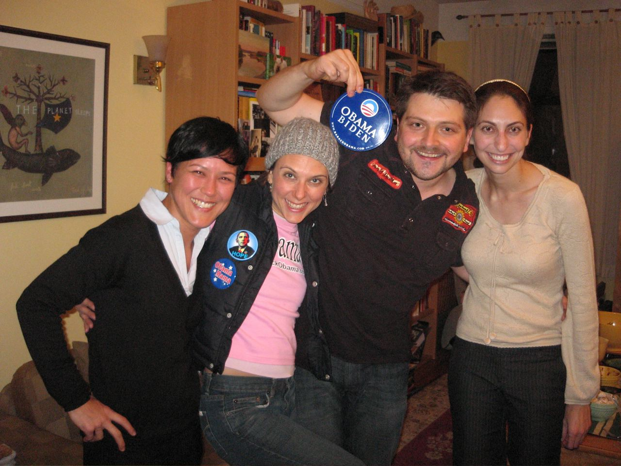 Obama party