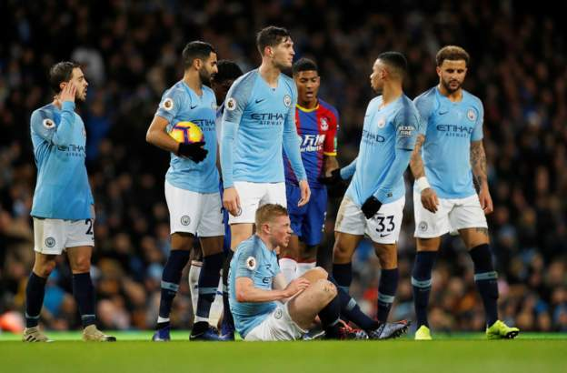 DOWNLOAD: Manchester City 2 – 3 Crystal Palace (22/12/2018) English Premier League Highlights
