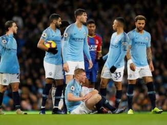 Manchester City 2 – 3 Crystal Palace