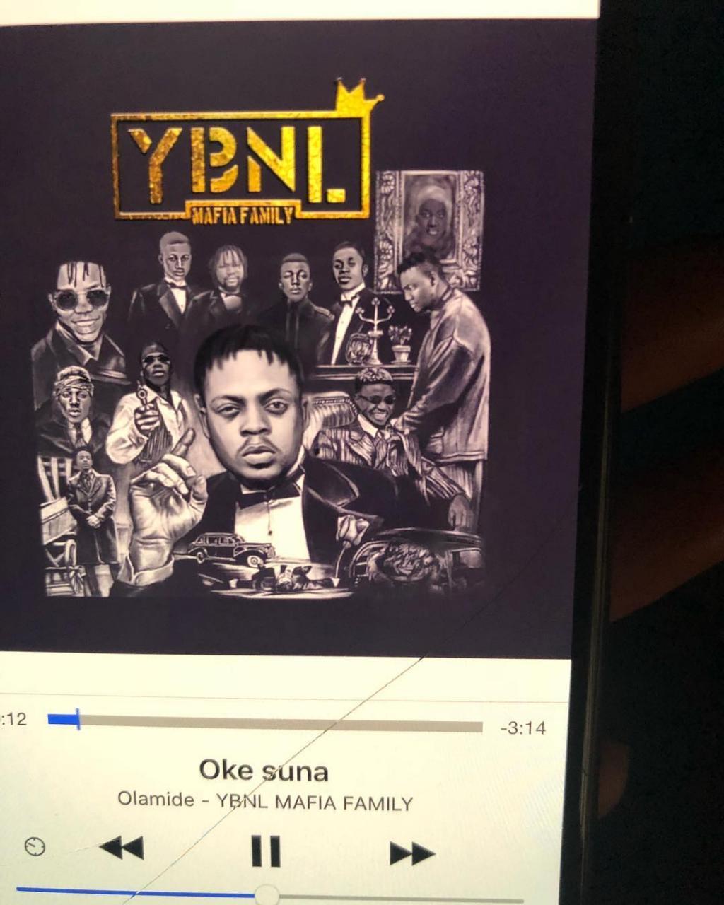 """Olamide – """"Oke Suna"""" (YBNL Mafia Family! Album"""