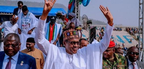 INEC Finally Declares Buhari Winner Of 2019 Presidential Election