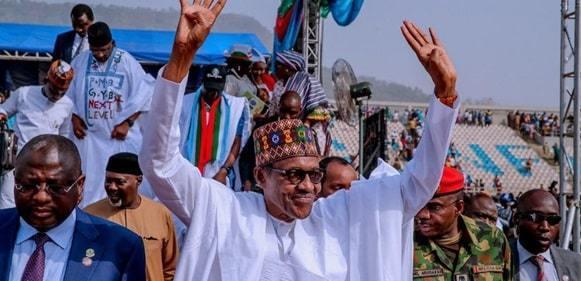 INEC Finally Declares Buhari Winner Of 2019 Presidential Election