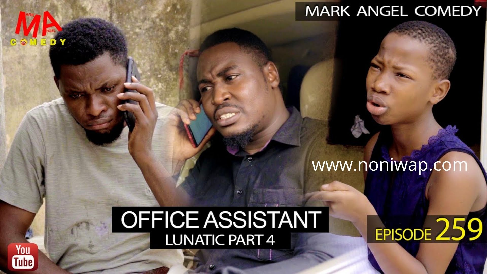 DOWNLOAD: OFFICE ASSISTANT (Mark Angel Comedy Episode 259)