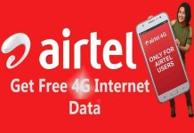 How to Get Free 10GB Airtel 4G Data for 2020/2021