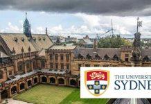 Sydney Scholarship Awards 2020/2021 for Undergraduate Students