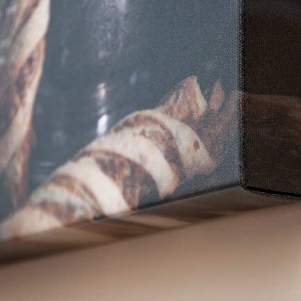 wrapped canvas kitchen art