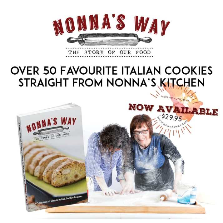 Nonna's Way cookie recipe book now available