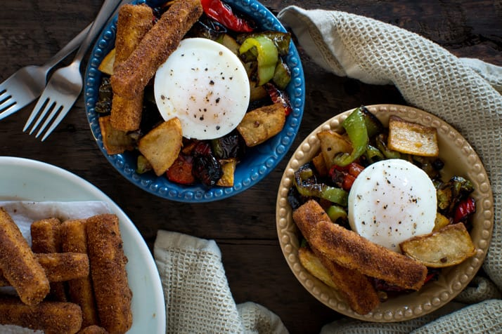 polenta-fries-eggs-and-pepper-stir-fry
