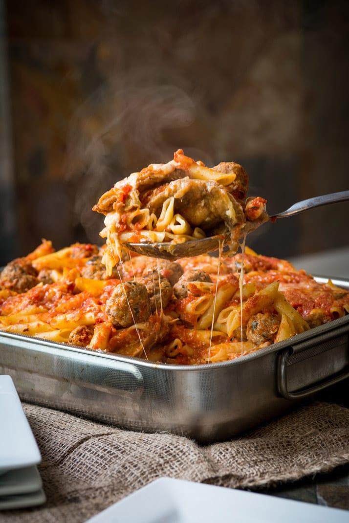 pasta al forno, oven baked pasta recipe