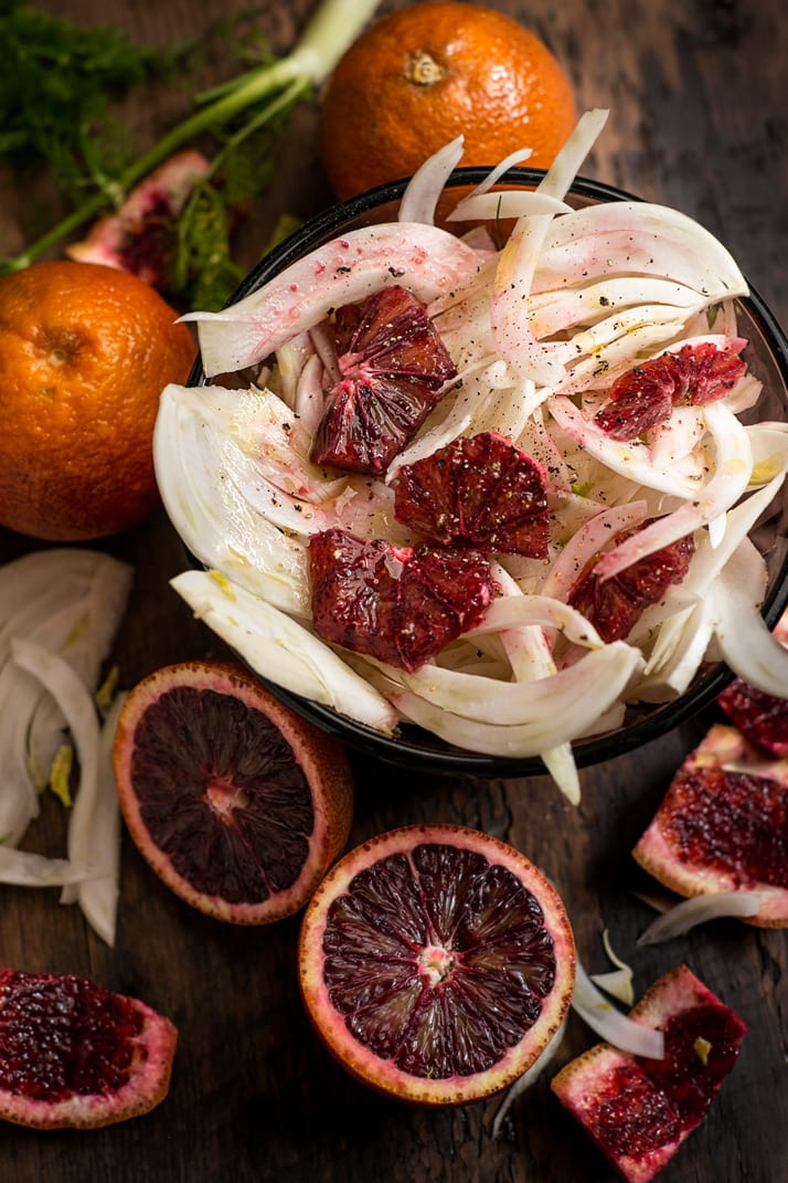 blood-orange-fennel salad-vinaigrette
