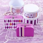 Kids Concept Dywan Zamek Fairy Liliowy2