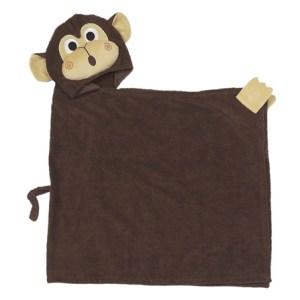 Zoocchini Ręcznik z Kapturem Małpka Chippy