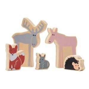 Kids Concept Edvin Drewniane Zwierzęta