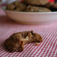 Pecan Caramel Zeezout Chocolate Chip Cookies