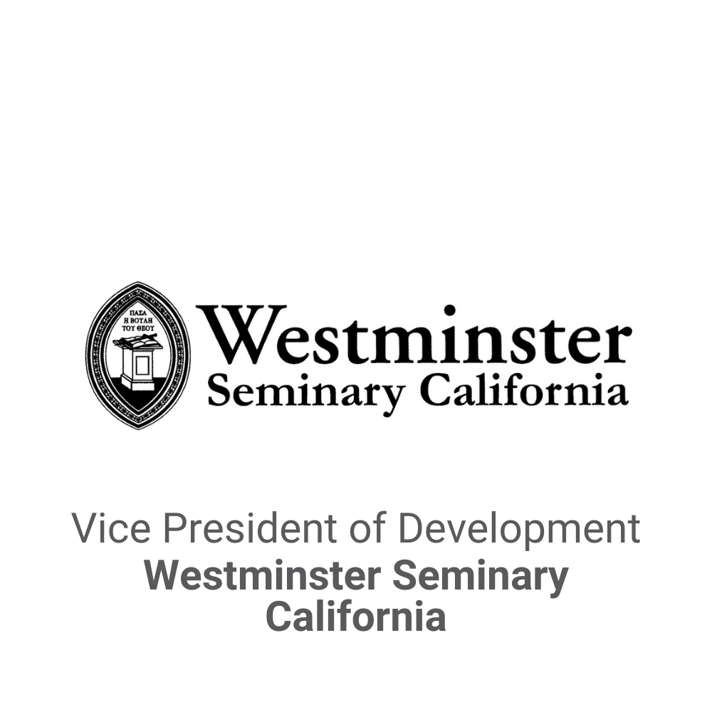 Vice President of Development Executive Search_Westminster Seminary DB&A Executive Search2