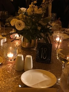 Cal Shakes Gala 2017 Placesetting