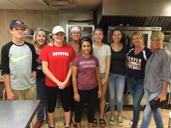 Friends and family have stepped up and committed to purchase, cook, and serve a couple of meals each month at Cornerstone Rescue Mission.